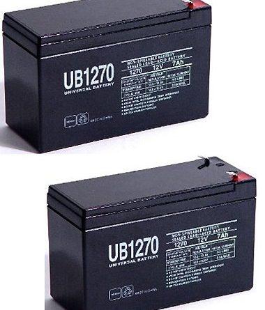 Ub1270 12v 7ah Battery Fm150 Gto Gate Openers 2 Pack