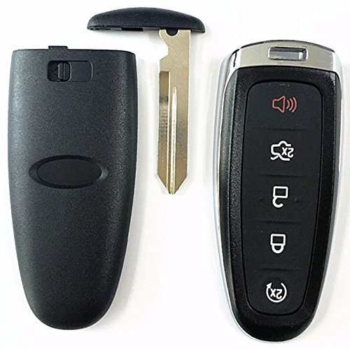 Ford Replacement Key Fob Shell Case Cover Smart Keyless Entry Remote Blank Key For Ford Edge Escape Explorer Focus Flex Taurus Fusion