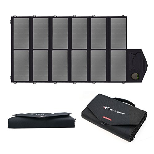 New Version ALLPOWERS 80W Foldable Solar Panel SunPower Solar