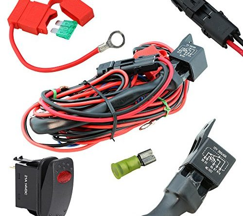 Wiring Harness Relay Wiring Kits For Heavy Duty Led Work Lights Hid