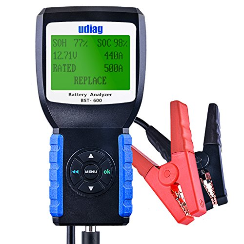 Udiag BST-600 Car Battery Load Tester for 12V and 24V
