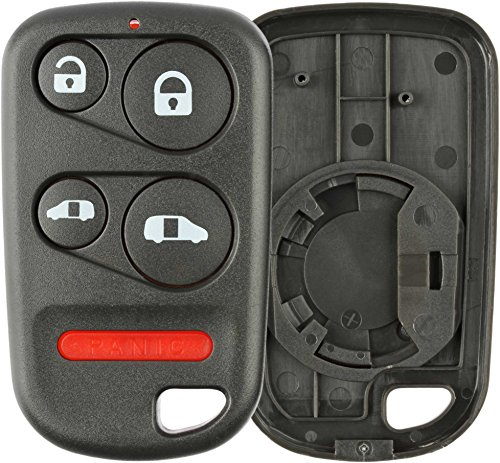 keylessoption keyless entry remote control car key fob replacement  oucgd   pack