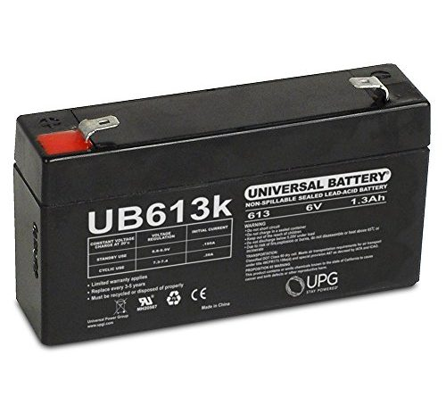 6v 1 3ah Ge 600 1054 95r Simon Xt Replacement Battery