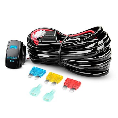 12v Wiring Kit Includes Switch Relay For Led Spotlights Work Fog Light