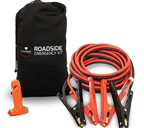 Carrying Bag Amp Emergency Tool Window Breaker Car Jumper