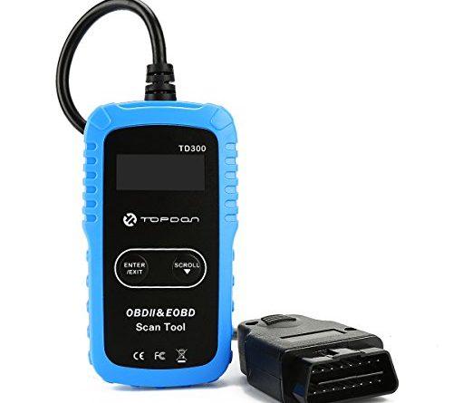 B2600i Retrieving Check Engine Light Cel Codes: TOPDON Car Diagnostic Scan Tool