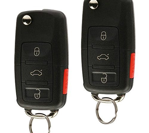 Replacement Keyless Entry Remote Flip Key Fob Fits 2002