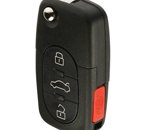 Replacement Keyless Entry Remote Flip Key Fob Fits 1998