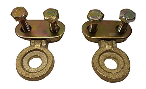 Ter Mex Tm25 2x Battery Side Post Solid Brass Cable Ends