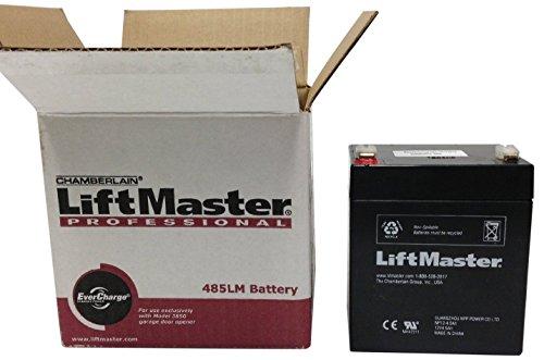Chamberlain Liftmaster 485lm Battery Liftmaster Garage