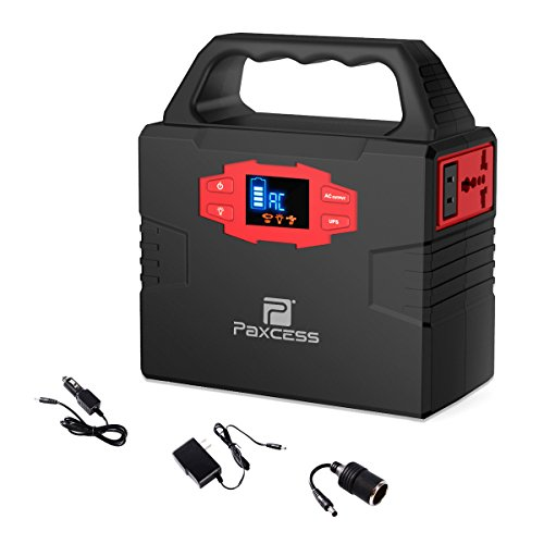 151Wh 40800mAh Portable Generator Power Station, 100W CPAP Battery