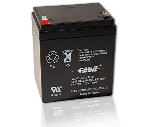 Casil Ca 1240 12v 4ah Alarm System Battery Back Up Vista