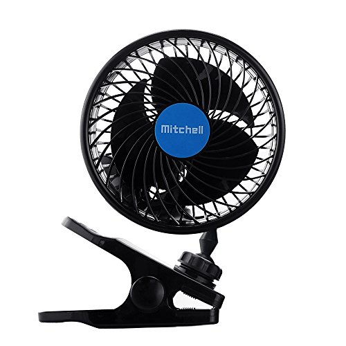 Jhua 12v 6 Inch Car Clip Fan Automobile Vehicle Cooling
