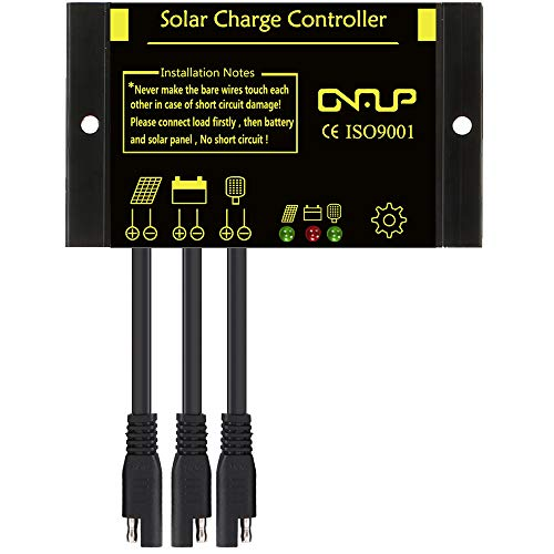 Portable 14w Solar Panel Trickle Charging Kit For