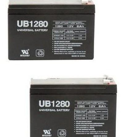 Replacement Battery for APC SMART-UPS SUA750 - Set of 2 ...